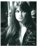 Caroline Munro signed 10 by 8 star of Dracula, Sinbad, Bond #15